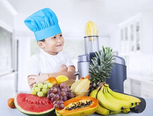 Boy With Juicer