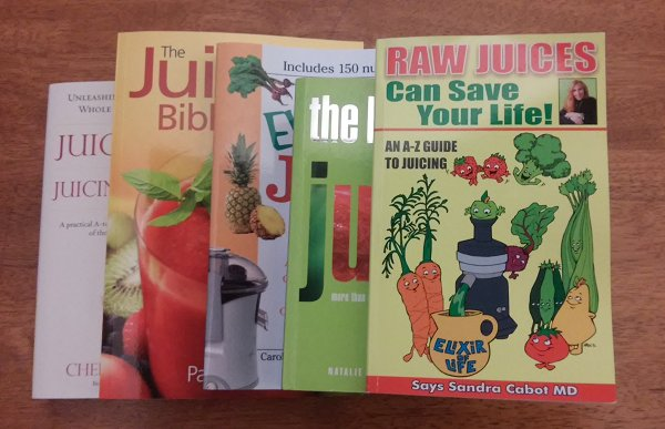 My Top 5 Juicing Books