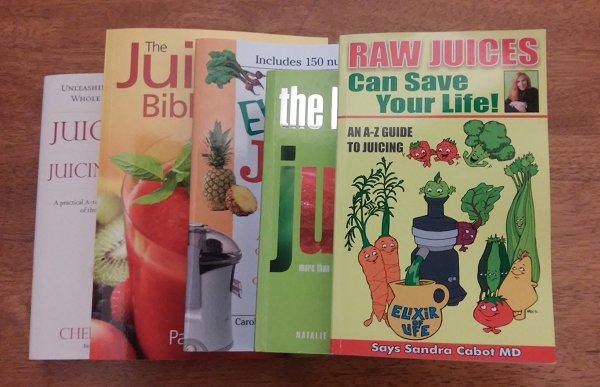 My Top 5 Juicing Books