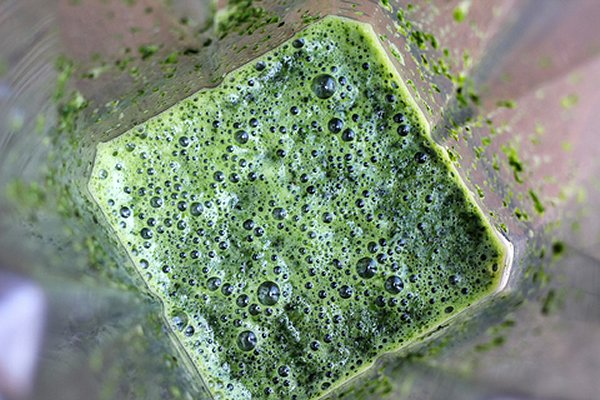 Green Juice In Blender